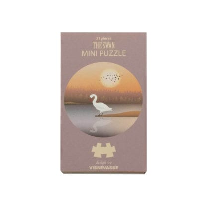 Puzzle mini - The Swan