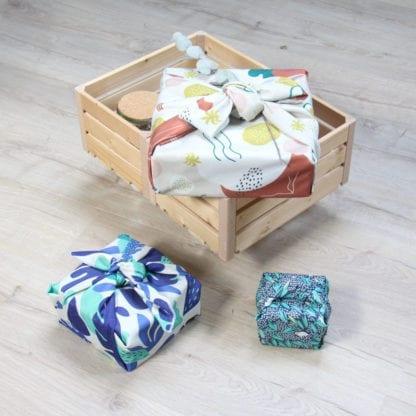 Emballage cadeau tissu - Paké