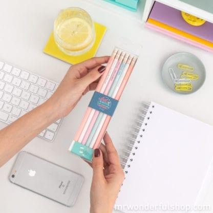 Crayons - Bonnes énergies (6pcs)