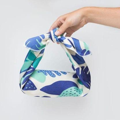 Emballage cadeau tissu - Herbier