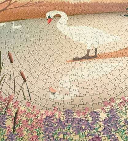 Puzzle - The Swan