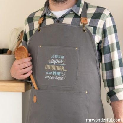 Tablier - Super cuisinier