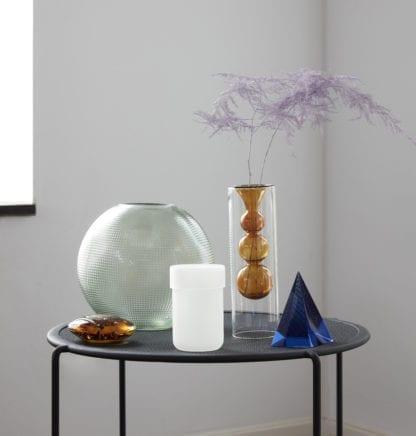 Vase transparent - Vert