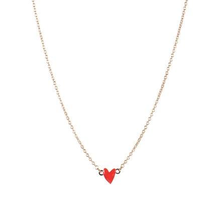 Collier Grant – Cœur rouge