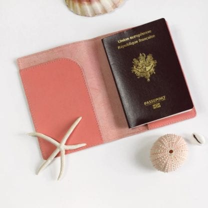 Étui passeport - Fraise