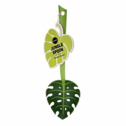Jungle Spoon – Écumoire Monstera
