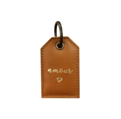 Porte-clés - Amour caramel