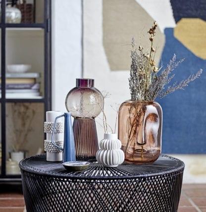Vase - Visage brun