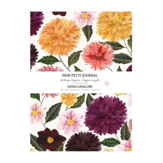 Carnet – Fleurs dahlias