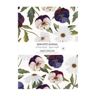 Carnet – Fleurs pensées