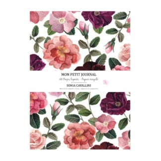 Carnet – Fleurs roses