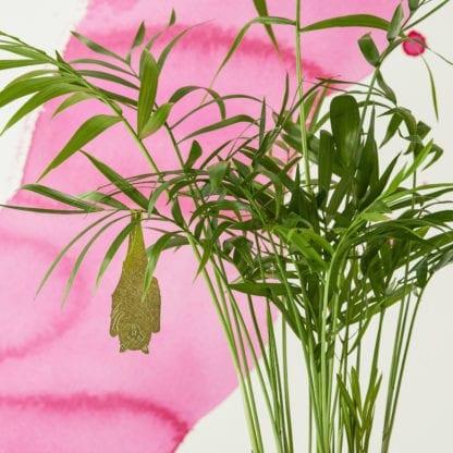 Déco pour plante - Chauve-souris