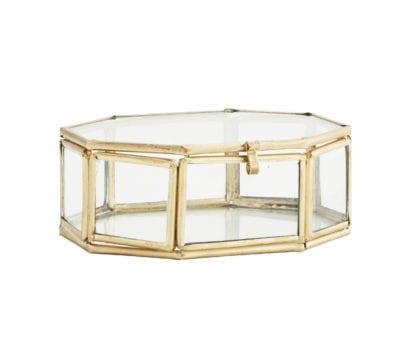 Boîte en verre - Octogonal