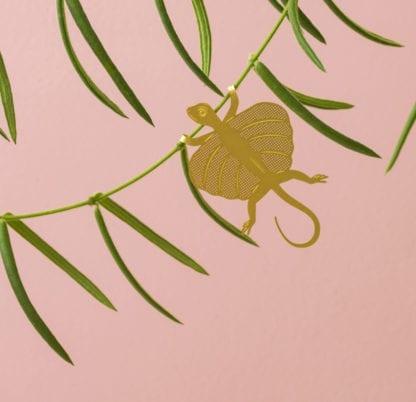 Déco pour plante - Lézard volant