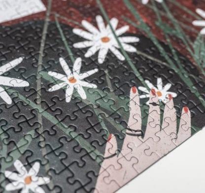 Puzzle - Daisy girl