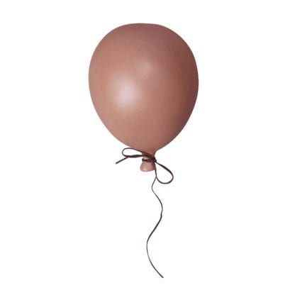 Ballon céramique L – Vieu rose