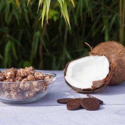 Popcorn - Chocolat noir & Coco
