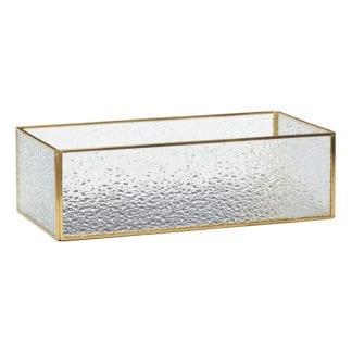 Boîte en verre - Effet givré
