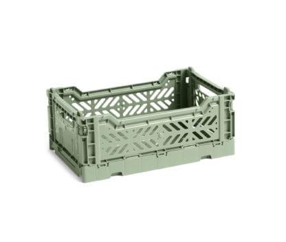 Caisse de rangement S - Dusty green