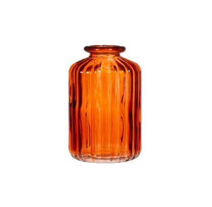 Vase en verre mini - Ambre (b)