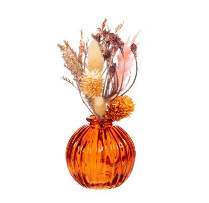 Vase en verre mini - Ambre (c)