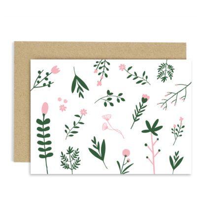 Carte de voeux – Flowers