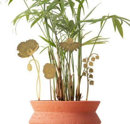 Déco pour plante - Jardin fleuri