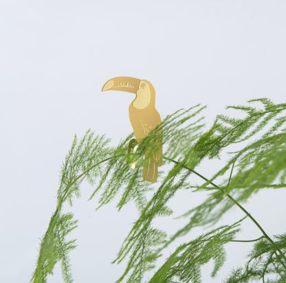 Déco pour plante - Toucan