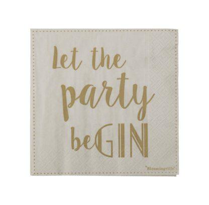 Serviettes - Let the party beGIN