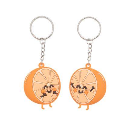 Porte-clés - Orange (2pcs)