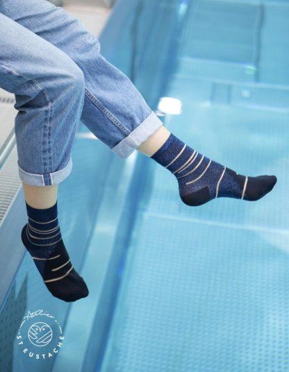 Chaussettes - Tate Modern blue