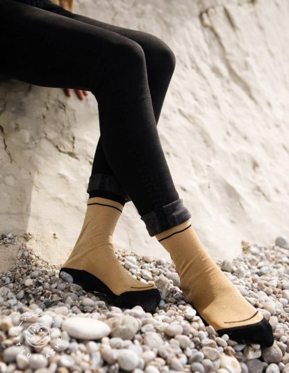 Chaussettes - Giselle gold